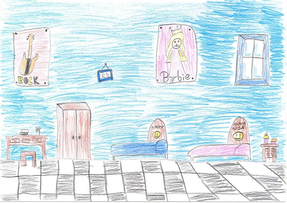 Disegna la casa dei tuoi sogni b come bimbo for Disegna la mia casa
