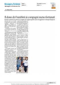 Messaggero di Pordenone - 11/03/2015